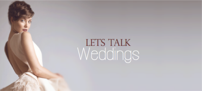 lets talk weddings